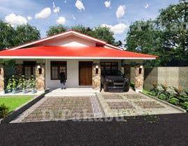 Nro 25 kilpailuun Exterior simple house 3D design (03 views) käyttäjältä desrianto123