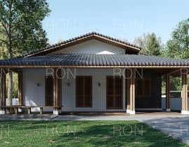 Nro 21 kilpailuun Exterior simple house 3D design (03 views) käyttäjältä Ronnielim88