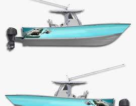 Nro 12 kilpailuun Graphic design for boat wraps käyttäjältä Hagerhisham