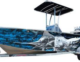 Nro 20 kilpailuun Graphic design for boat wraps käyttäjältä muaazbintahir