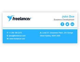 #53 for Create an Email Signature for Freelancer.com by mondaluttam