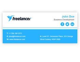#54 for Create an Email Signature for Freelancer.com by mondaluttam