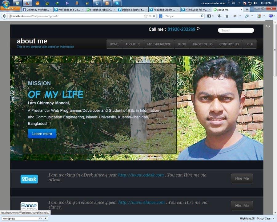 Bài tham dự cuộc thi #6 cho Integrate Cordova Into HTML5+CSS3 Mobile Application
