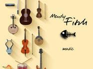 "Graphic Design Intrarea #57 pentru concursul ""Design a Logo for Mendy Fisch Music"""