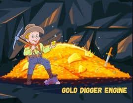 Nro 19 kilpailuun Logo: Gold Digger Engine käyttäjältä najwamazali