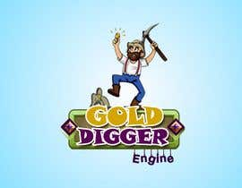 Nro 18 kilpailuun Logo: Gold Digger Engine käyttäjältä capuloyardelyn