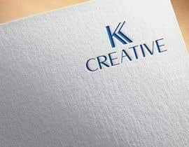 Nro 71 kilpailuun Logo design needed for embroidery and painting and clothing design company name KK creative käyttäjältä saifuledit