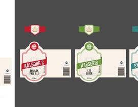 Nro 10 kilpailuun Beer labels (6) käyttäjältä Parasite97