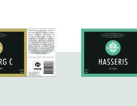 Nro 20 kilpailuun Beer labels (6) käyttäjältä KarynaKappa