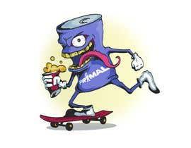 #10 untuk Design for T-Shirt/Hoodie (Skateboarding Beer Can) oleh Maykooo