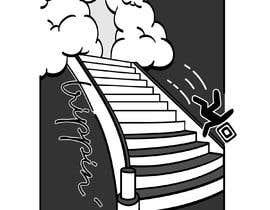 #15 untuk Design for Hoodie/T-Shirt (Stairway to heaven + Stick figure) oleh Maykooo