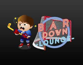 #18 for Illustrate Something for a Bar Down Lounge logo by joshuabermdez