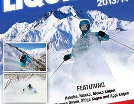 #108 for Front cover design for Japan ski brochure by gl3nnx