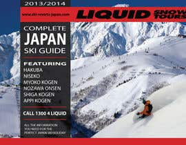 #102 for Front cover design for Japan ski brochure by burgerdesign1
