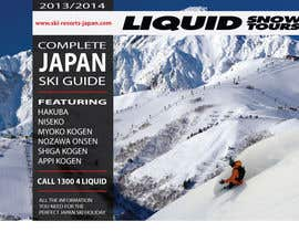 #103 for Front cover design for Japan ski brochure by burgerdesign1