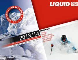 #113 untuk Front cover design for Japan ski brochure oleh Farignrooy