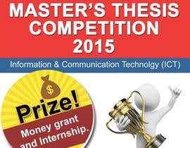 #4 for Design a Flyer for a master's thesis prize (ICT related topics) by mouseandmind