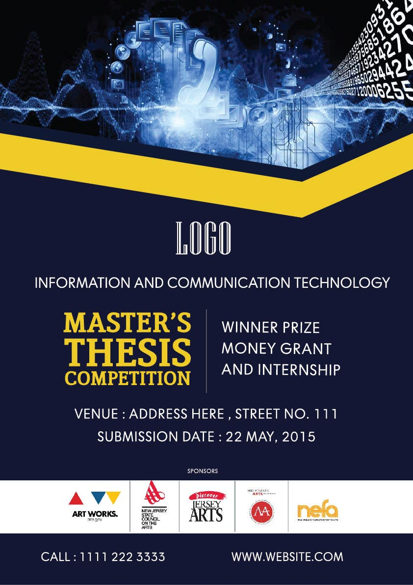 master thesis ict The master's thesis is an academic research paper and an essential piece of evidence demonstrating the student's ability to apply the ict-640 from 0930-16.