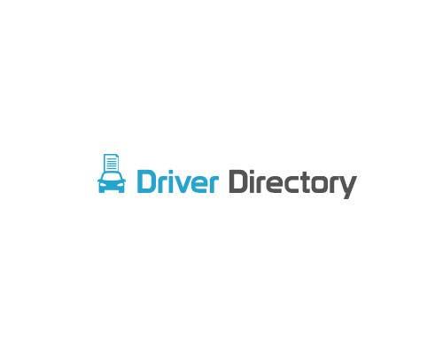 "Proposition n°                                        1                                      du concours                                         Design a Logo for ""Driver Directory"""