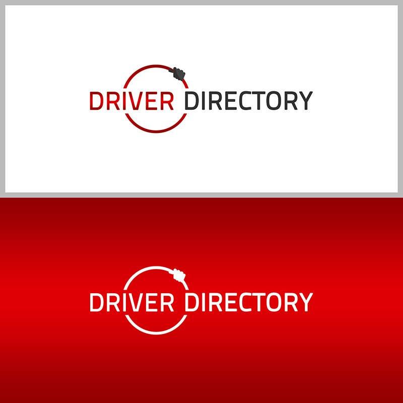 "Proposition n°                                        21                                      du concours                                         Design a Logo for ""Driver Directory"""