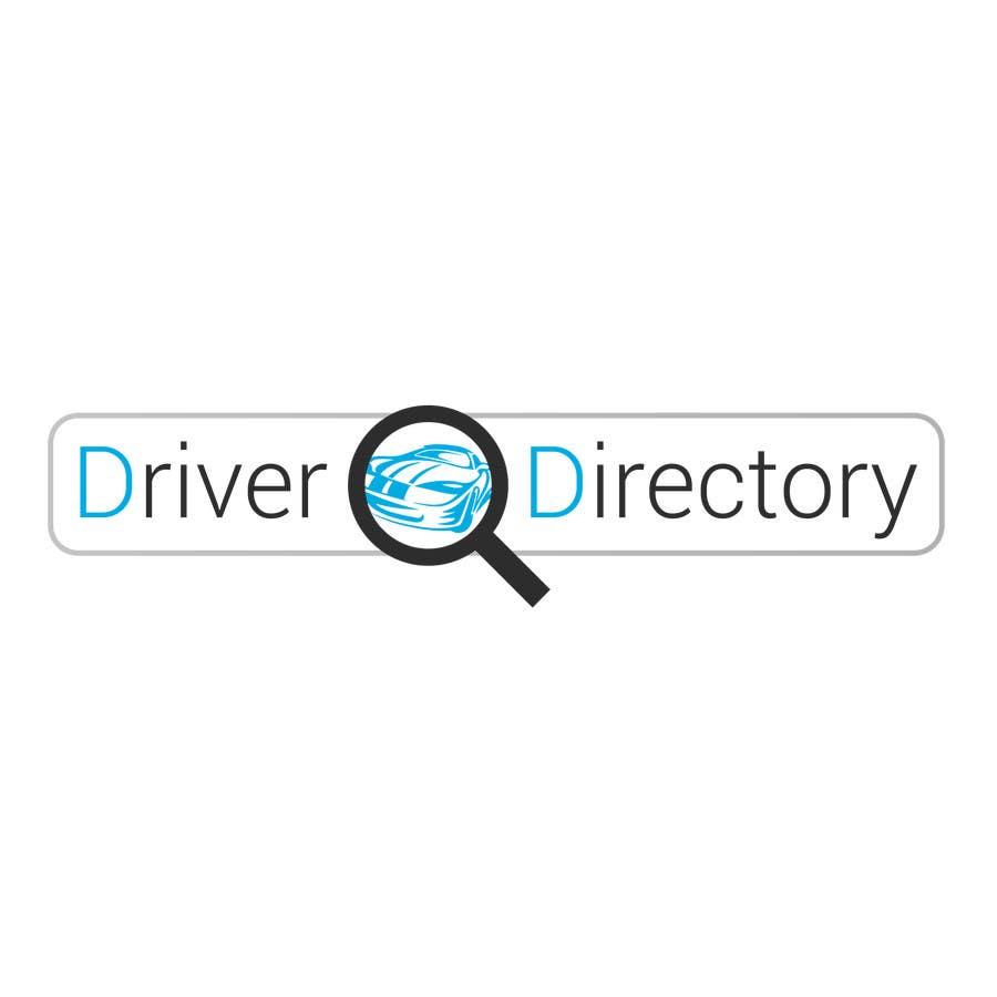 "Proposition n°                                        8                                      du concours                                         Design a Logo for ""Driver Directory"""