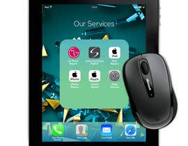 #7 for Design an IPhone look mouse pad by elgu