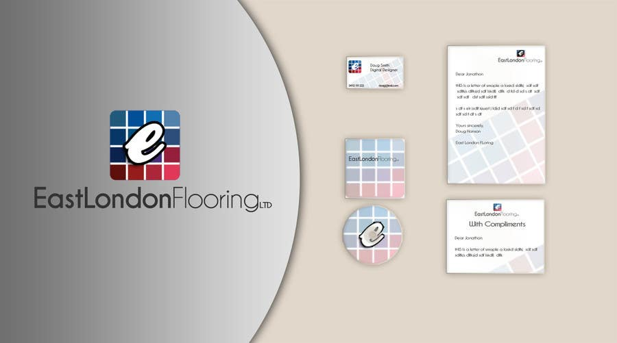 #39 for Logo Design & corporate pakage for East London Flooring ltd by Doug83