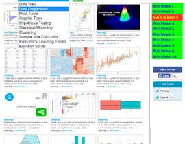 osmansust tarafından Improve our cloud data analysis website and create a landing page for it için no 10