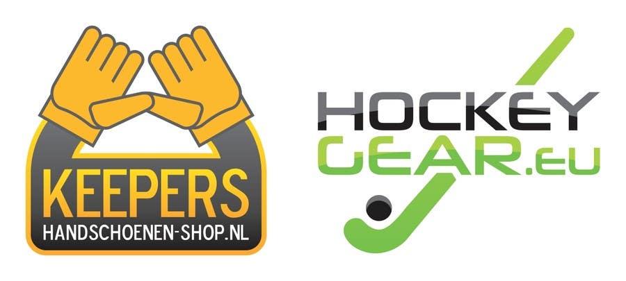 Konkurrenceindlæg #                                        9                                      for                                         Logo Design for Fieldhockeywebshop and Goalkeeper gloves webshop