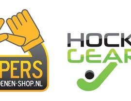 #9 para Logo Design for Fieldhockeywebshop and Goalkeeper gloves webshop por Nicolive86