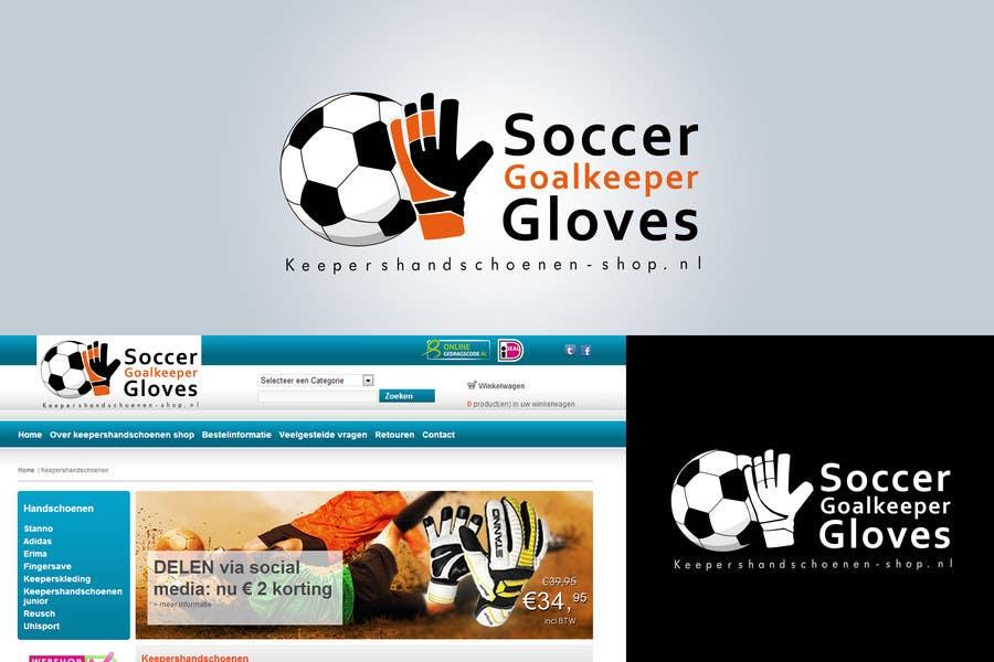 Konkurrenceindlæg #                                        29                                      for                                         Logo Design for Fieldhockeywebshop and Goalkeeper gloves webshop