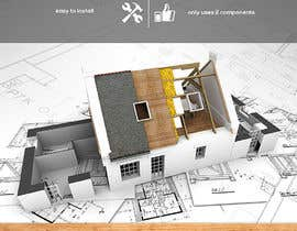 #40 for Design an Advertisement for Wraptite Airtightness Advert by elgu