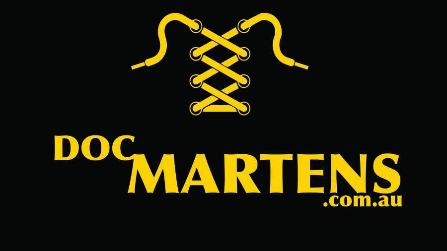 Kilpailutyö #19 kilpailussa Design a Logo for Dr Martens online store