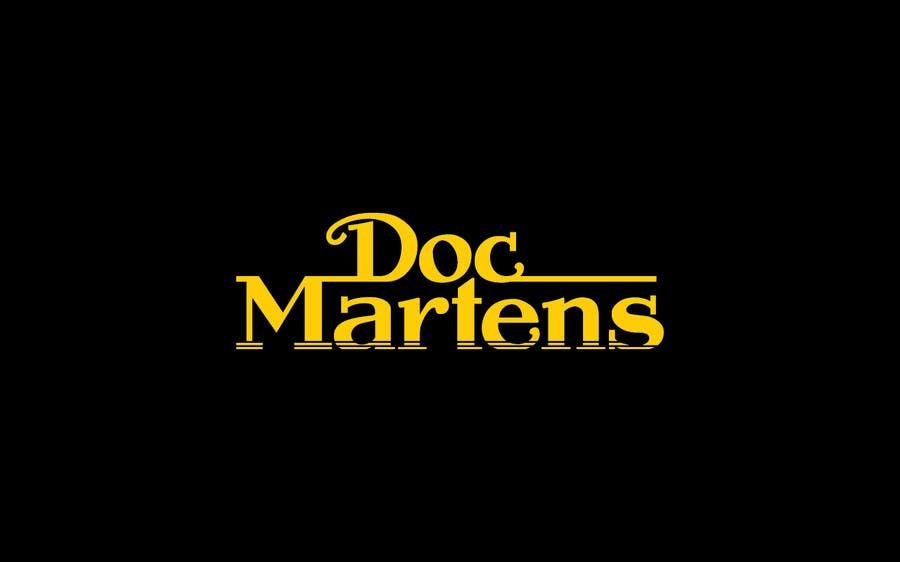 Kilpailutyö #46 kilpailussa Design a Logo for Dr Martens online store