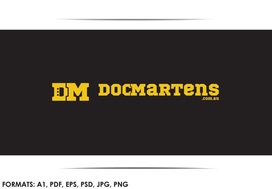 Kilpailutyö #31 kilpailussa Design a Logo for Dr Martens online store