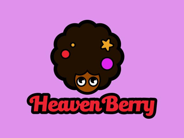 "Intrarea #8 pentru concursul ""Design a Logo for The HeavenBerry Hair Show 4 kids"""