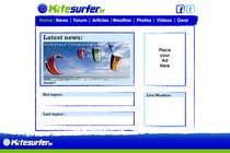 Graphic Design Inscrição do Concurso Nº66 para Logo Design for kitesurf website