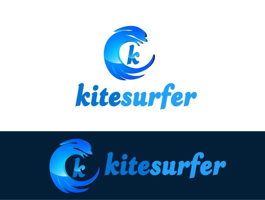 Inscrição nº                                         68                                      do Concurso para                                         Logo Design for kitesurf website