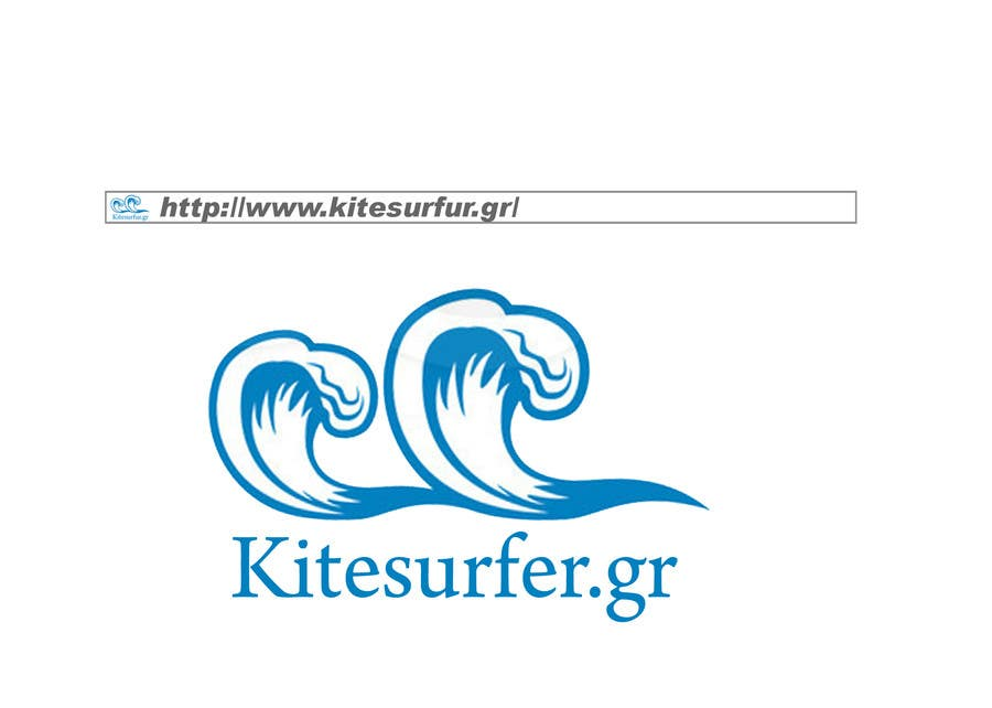 Inscrição nº                                         33                                      do Concurso para                                         Logo Design for kitesurf website