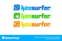 Graphic Design Entri Peraduan #27 for Logo Design for kitesurf website