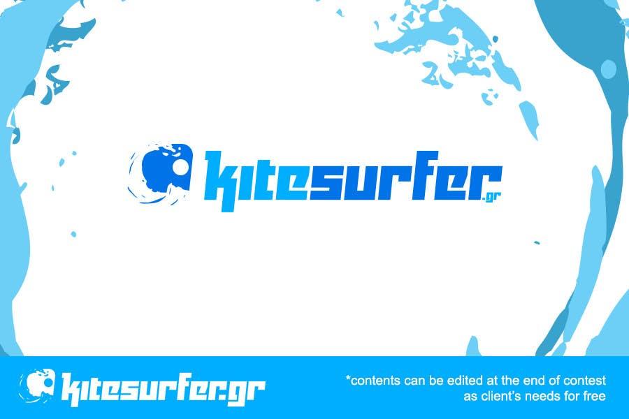 Inscrição nº                                         81                                      do Concurso para                                         Logo Design for kitesurf website