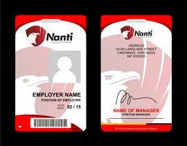 nº 17 pour ID Badge for Nanti System par Qomar