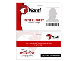 nº 2 pour ID Badge for Nanti System par geofards
