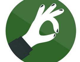 """Nro 32 kilpailuun Design hand with """"ok sign"""" käyttäjältä nadiagericke"""