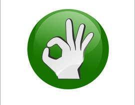 """Nro 35 kilpailuun Design hand with """"ok sign"""" käyttäjältä Veronika123456"""