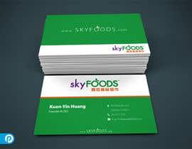 Nro 22 kilpailuun Design some Business Cards for an e-commerce supermarket käyttäjältä alvinfadoil
