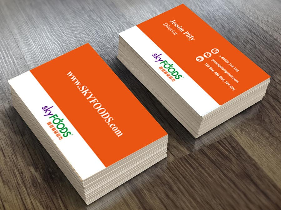 Entry #9 by cuongdhqb for Design some Business Cards for an e ...
