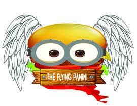#23 for Design Logo For Panini Sandwich Restaurant of a Flying Panini by NasSyakirin
