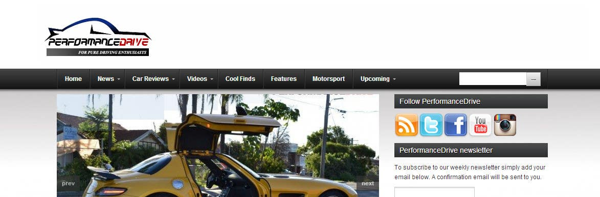 Kilpailutyö #                                        51                                      kilpailussa                                         New logo for automotive website
