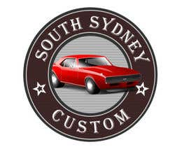 huben92 tarafından Logo Design for South Sydney Customs (custom auto spray painter) için no 8